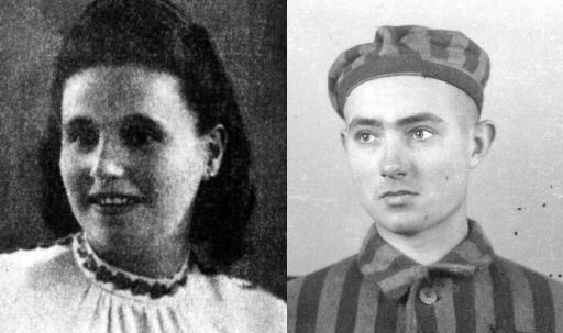 Edward Galinski y Mala Zimetbaum